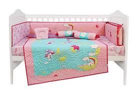baby cot crib bedding set 6 pcs
