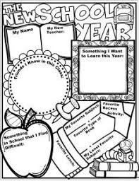 Small Picture Best 25 Back to school worksheets ideas on Pinterest Fun