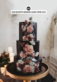 Our Favorite Wedding Cakes From 2018 Green Wedding Shoes