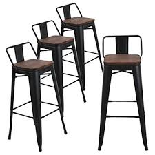 Tolix counter stools Bar Stools Image Unavailable Amazoncom Amazoncom Andeworld Set Of Tolixstyle Counter Height Bar Stools