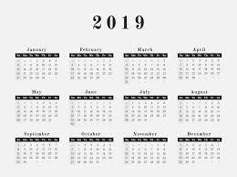 pdf printable calendar yearly get free download annual printable calendar 2019 pdf editable
