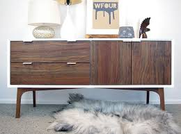 white lacquered furniture. WFour Cabinet Walnut And White Lacquer Lacquered Furniture
