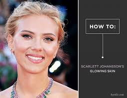 makeup scarlett johansson may be glowing because of her new pregnancy right now but back in