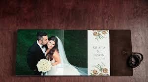 krista and jason's summer wedding album modern wedding Wedding Albums New York journal style leather bound fine art wedding album two page 24 x 12 opening spread wedding album new york