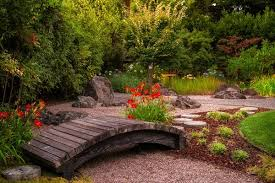 lacking beauty in your garden with a bridge