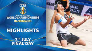 Day 10 - Highlights | FIVB Beach Volleyball World Championships Hamburg  2019 - YouTube