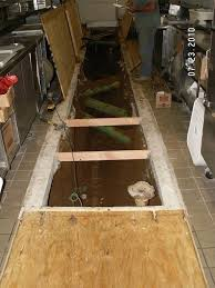 drain line replacement olive garden bangor me during construction