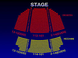 Gracie Theater Seating Chart Helen Hayes Theatre Rock Of Ages 3 D Broadway Seating Chart