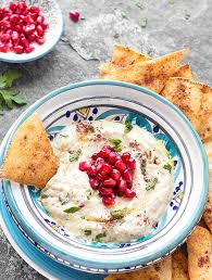 easy baba ganoush recipe a traditional middle eastern dip made with roasted eggplants tahini