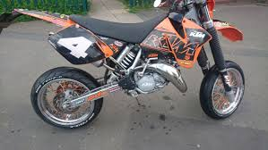 used ktm exc 125 supermoto in sy3 shrewsbury for 1800 00 shpock
