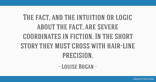 The Fact And The Intuition Or Logic About The Fact Are