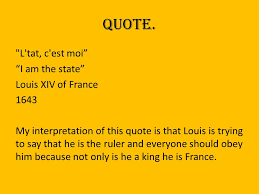 Xiv Quote Impressive Louis XIV Of France Jessie Leszczynski Louis XIV Of France Ppt