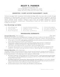 Resume Format For Accounts Manager. Account Manager Resume Sample ...