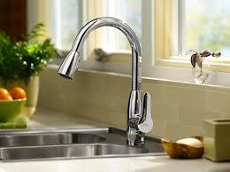 Kohler Brass Kitchen Faucet Contemporary Kitchen Smart Contemporary Kitchen Faucets Ideas For