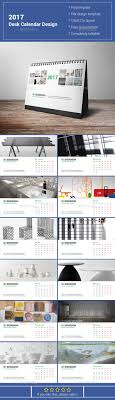 2017 desk calendar design stationery print templates