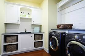 Designs Ideas:Laundry Room Idea With White Traditional Laundry Room Cabinet  And Storage Fashionable Laundry