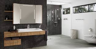 black and white bathroom shower tile designs