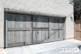 rustic garage doorsCustomMade Reclaimed Barn Wood Garage Door in a Rustic Style by