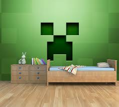 Kinderkamer Behang Minecraft Creeper Dielconl