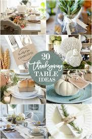 thanksgiving table ideas. 20-thanksgiving-table-setting-ideas-thanksgiving-tablescape-ideas thanksgiving table ideas
