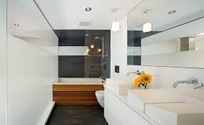 bathtub shower combo Bathroom Modern with bathroom mirror bathtubshower  combo. Image by: S2 Architects