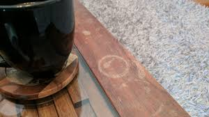 The easy way to remove water stains from wood furniture