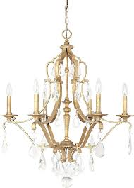 capital lighting antique gold chandelier loading zoom chain