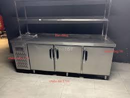 Thanh Lý 1 bàn đông, 1 tủ đông 2 ngăn, 1 tủ mát - 86008749