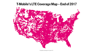 Wireless Spectrum Chart Holdings By Carrier T Mobile Dominates Spectrum Auction Will Boost Lte Network