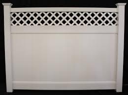 vinyl fence panels. Privacy Vinyl Lattice Top Fence Panel Vinyl Fence Panels