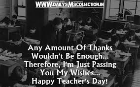 Best Teacher Quotes Inspiration Happy Teachers Day Quotes 48 Wishes Images Messages SMS
