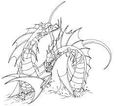 Sea Monster Coloring Pages Monsters Free Serpent The By Worm And