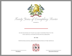 Fire Department Certificate Templates Magdalene Project Org