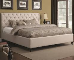 Upholstered Beds California King Upholstered Bed with Tufted