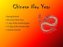 Chinese New Year Ppt Ppt Chinese New Year Powerpoint Presentation Id 3099218