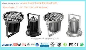 led tower light greenway lightings