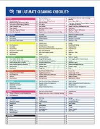 Professional House Cleaning Checklist | Clean It Up | Pinterest ...