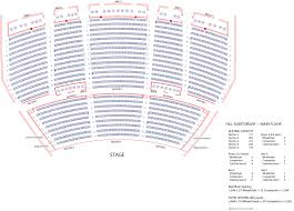 Moore Theater Seattle Seating Chart Hill Auditorium U M School Of Music Theatre Dance
