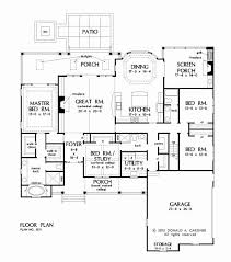 floor plan of a house with dimensions. Perfect Dimensions 2550 House Plan Elegant 1 Story Home Plans Best Technical Drawing  Of With Floor A Dimensions