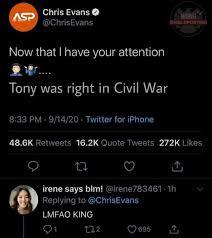 Chris Evans on Twitter: