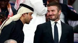 David Beckham wirbt für WM in Katar und erhält 180 Millionen Euro