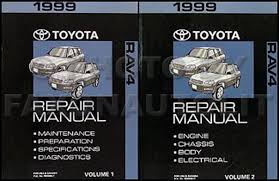 1999 toyota rav4 wiring diagram manual original related items