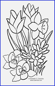 Coloring Pages Beautiful Flower Coloring Pages Colorful Flowers To