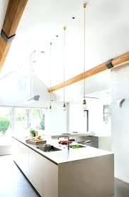 ceiling kitchen lamps vaulted lighting ideas skylights mini pendant lights contemporary white more cathedral