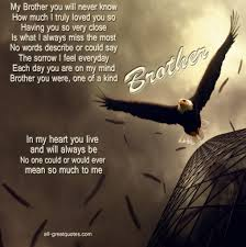 Quote On Brother Love 1000 Images About Missing U Brother On
