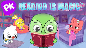 reading is magic kids songs about books i love to learn with playkids and songs for kids