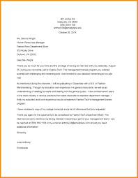 Ideas Of Interview Thank You Letter Template Sample About Form