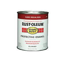 Rustoleum Paint Chart Stops Rust Protective Enamel Paint