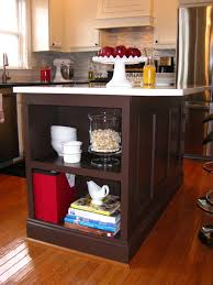 Kitchen Bookcase Remodelando La Casa Kitchen Island Update