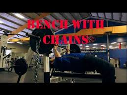 405 Bench Press  120lbs Of Chains Off The 4board  YouTubeChains Bench Press